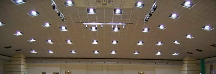 high ceiling lighting